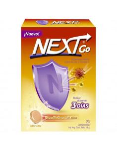 Next Go vitamina c + zinc...