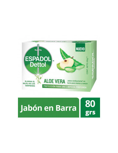 Espadol Dettol BS Aloe Vera 80 G